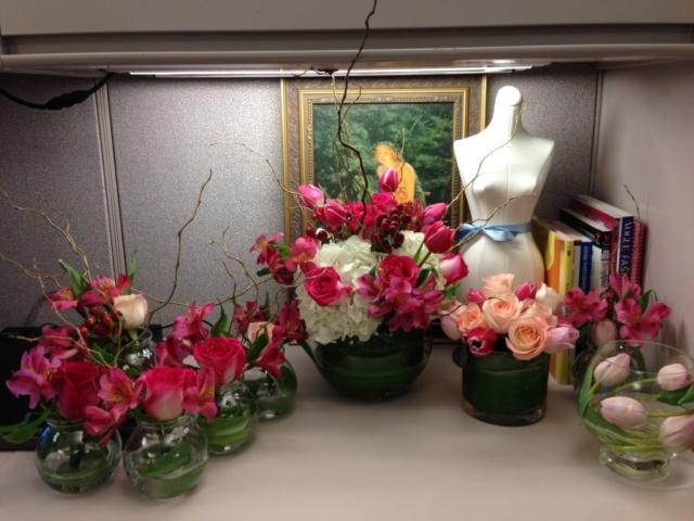 Mother's Day flowers, shabby chic, elegant spring flowers