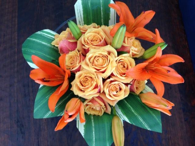 Orange spice flower themed, Fall flowers, Rustic, Harvest