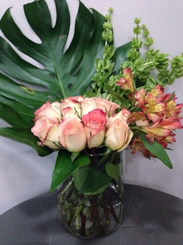 Exotic Modern flowers, contemporary