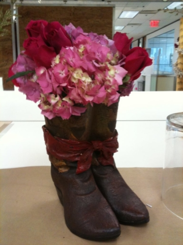 flowers, rustic, cowboy, Texas themed