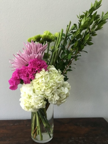 chic, modern, contemporary, flowers