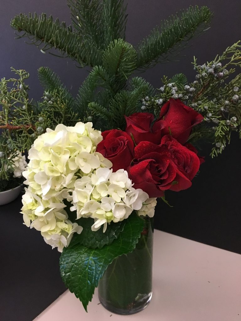 Holiday themed Florals