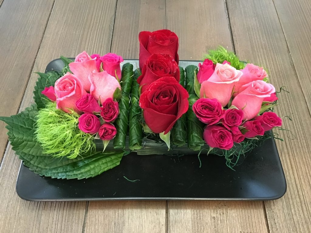 Pink/Red Contemporary Florals