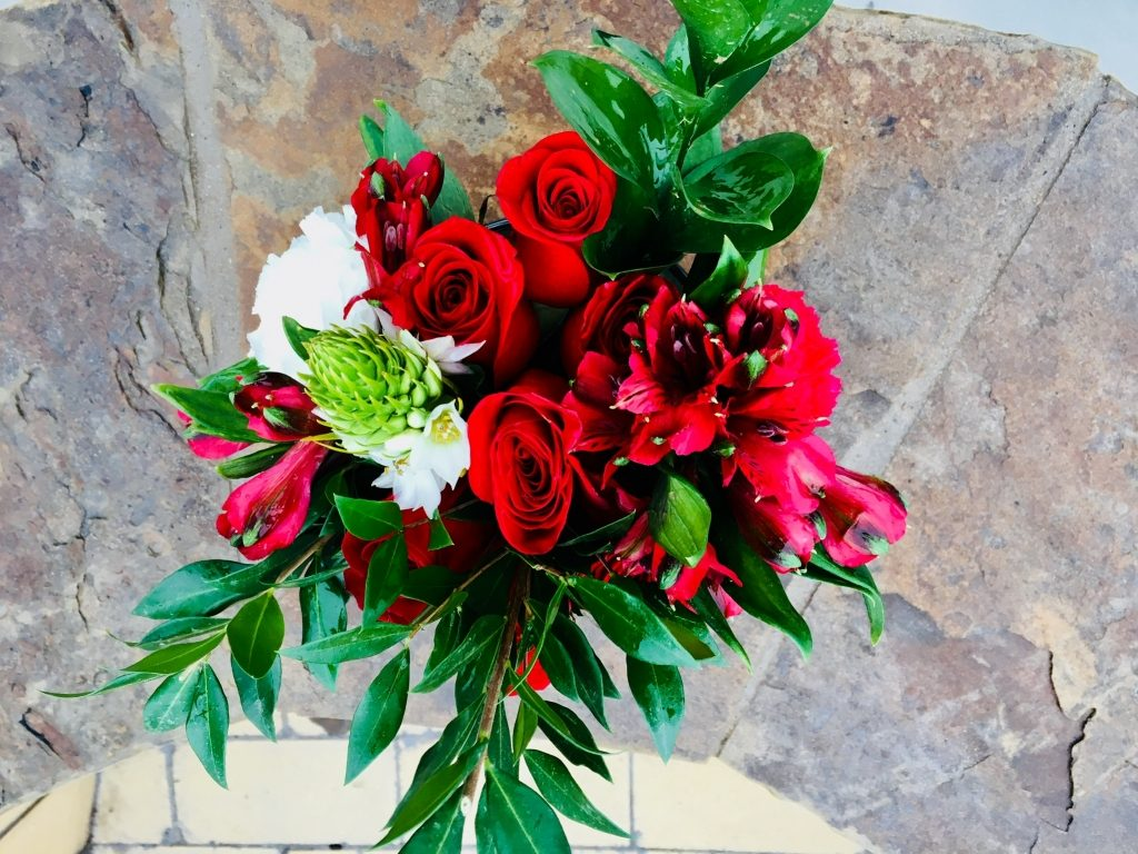 Top View-2017 Holiday/Christmas Arrangement#4