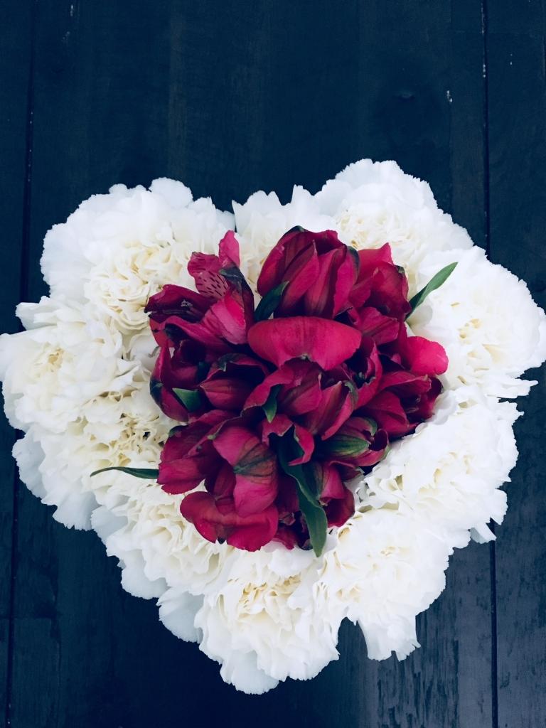valentine, flower, modern, diy, dollar tree