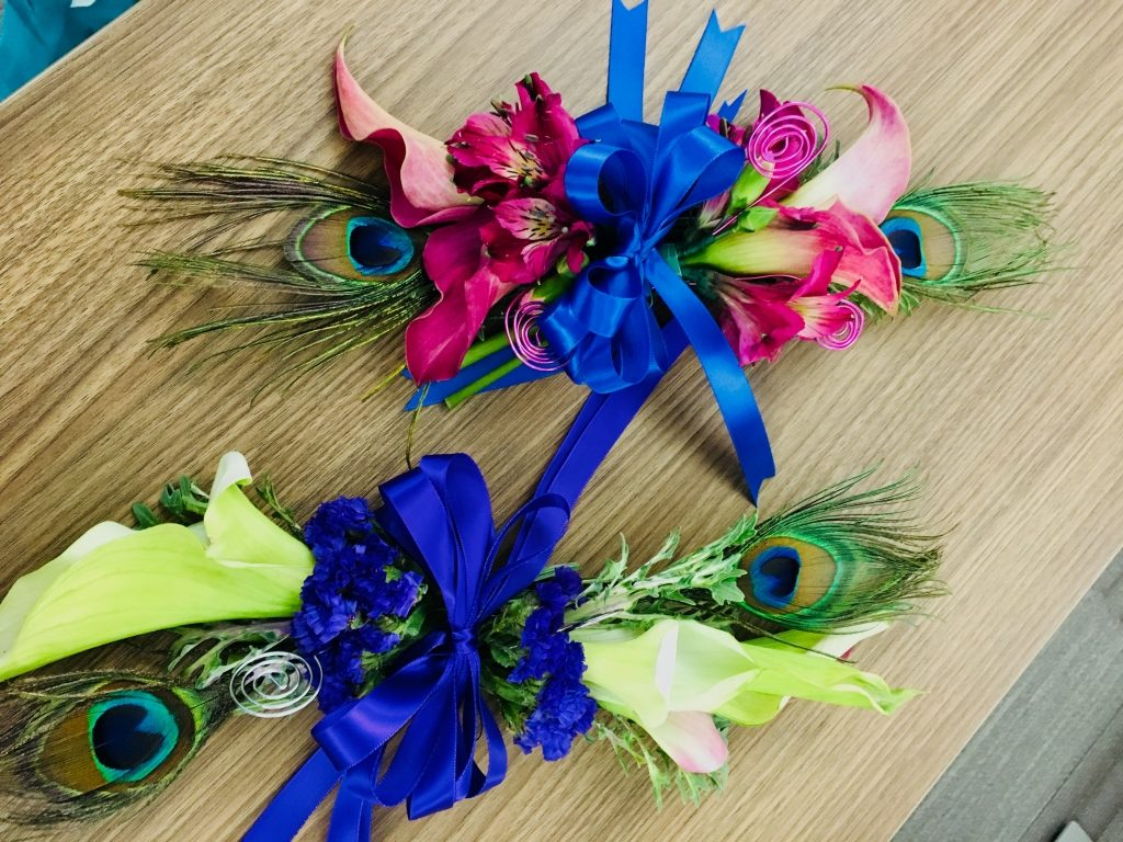 Calla Lilies Prom Corsages