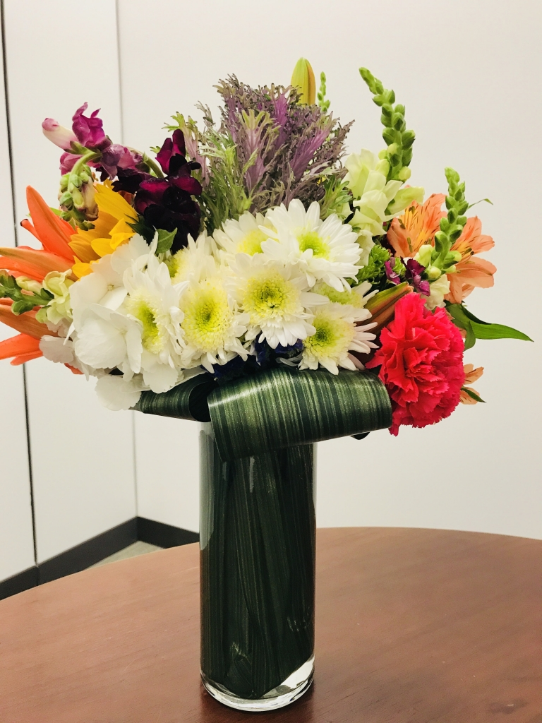 Spring Mix with vibrant colors, flowers