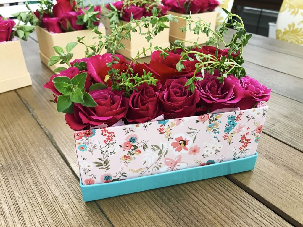Southern Charm flowers in a box