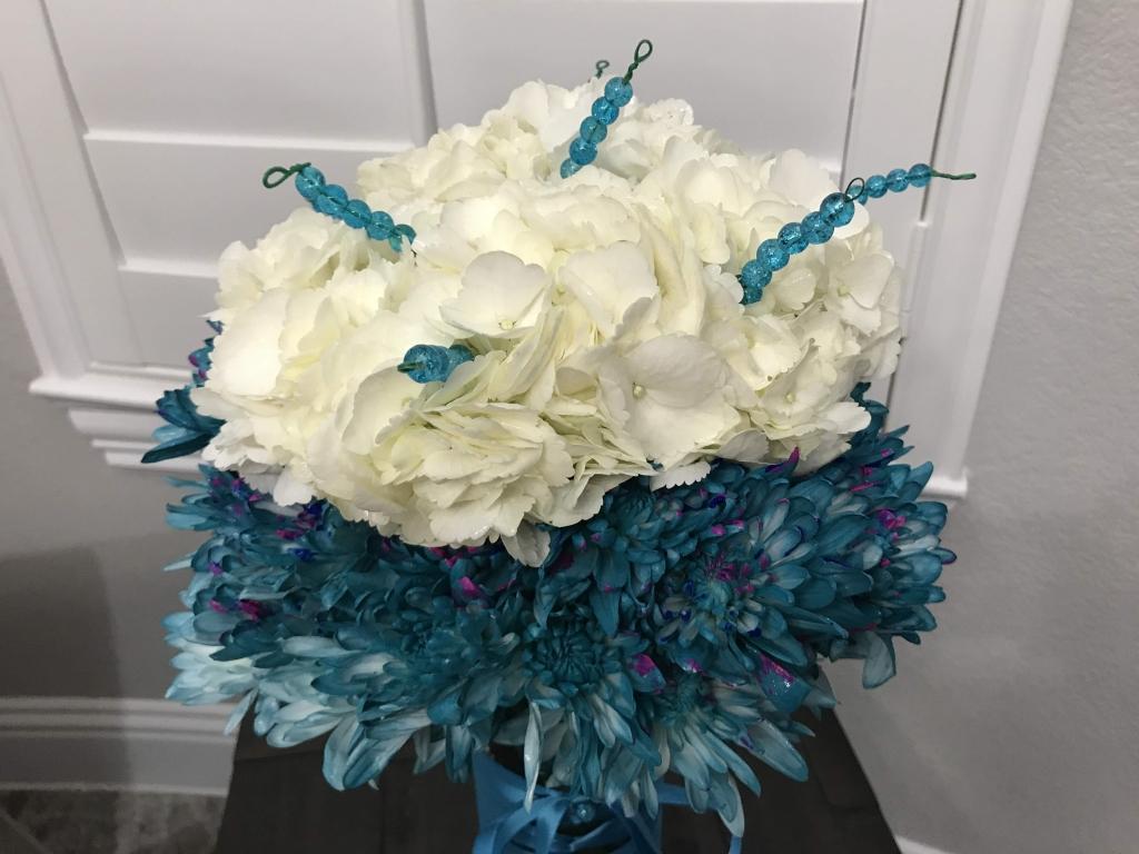 Ovarian Cancer, flowers