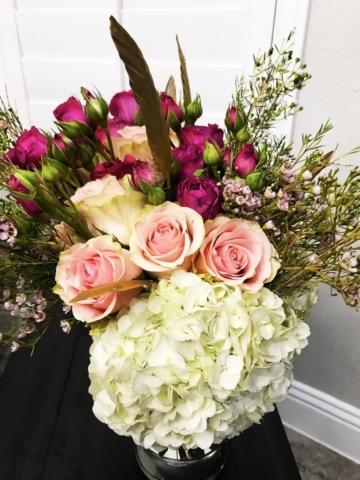 modern flower design
