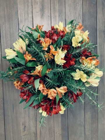 Fall Harvest flowers