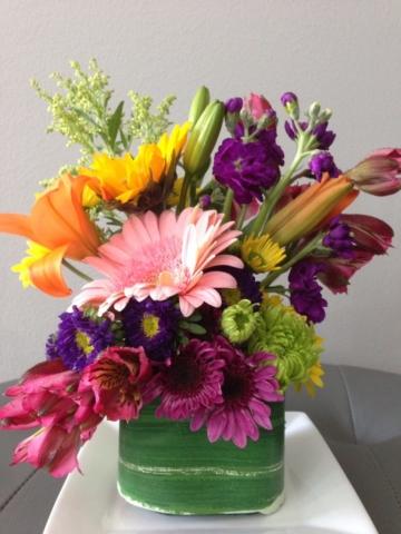 Spring flowers, modern, contemporary