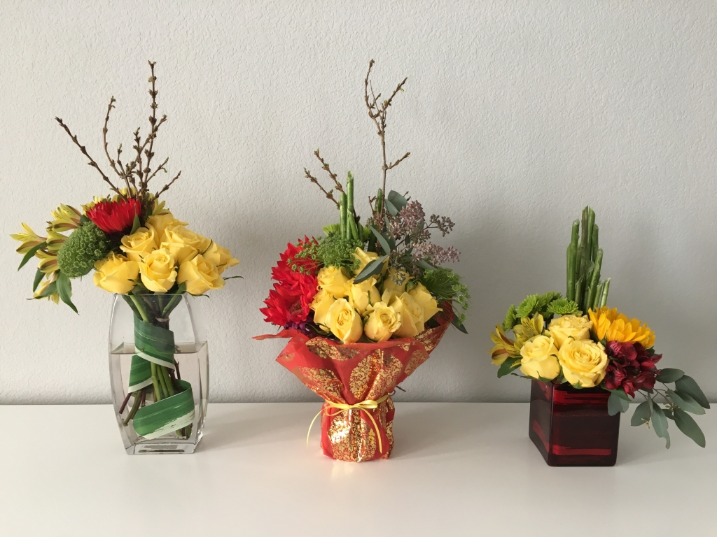 Lunar New Year Flowers, Chinese New Year, Yellow flowers