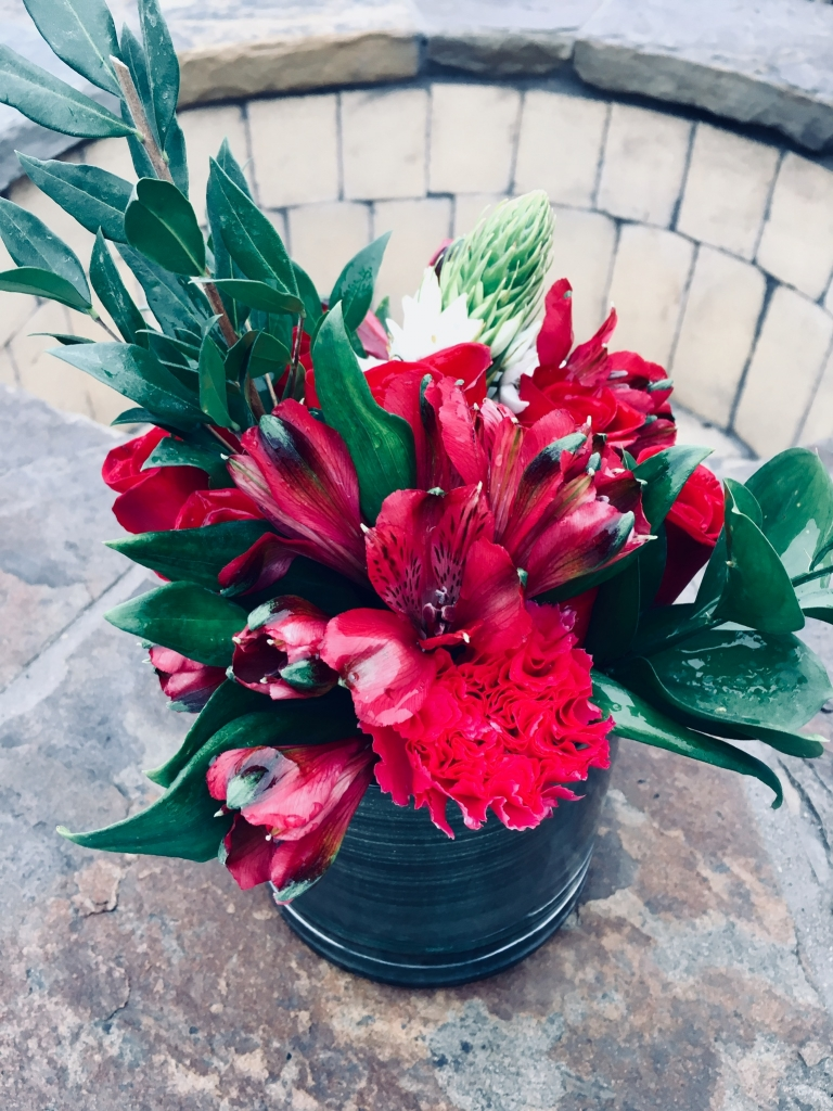 holiday, Christmas, modern, flowers