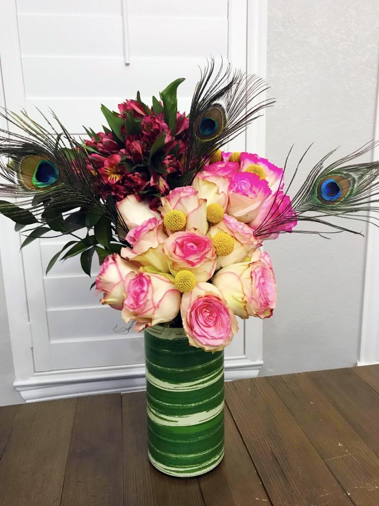 Gorgeous Flower Trios, unique flower designs, contemporary flowers